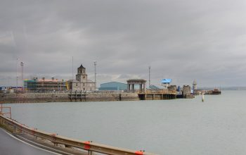 Port Holyhead In Wales